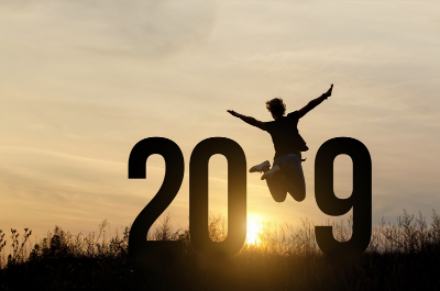 Jumping for joy in 2019